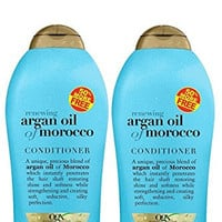 OGX Organix Argan Oil of Morocco Shampoo & Conditioner Set (19.5 Oz Set)