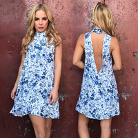 On A Floral Whim Shift Dress