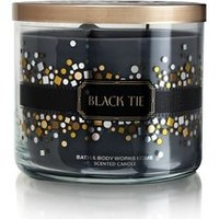 Bath & Body Works Black Tie 3-Wick Scented Candle