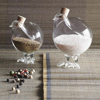 Holiday Gifts-Pair of chick salt n pepper shakers