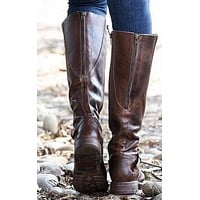 Zipper Women's Knight Boots