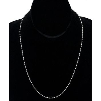 20 Stainless Steel Ball Chain Necklace