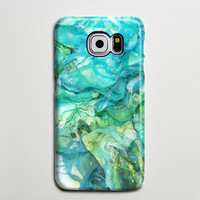 Abstract Blue iPhone 6s Case, iPhone 6 plus Case, iPhone 5 Case, Galaxy Case 3D s6-141