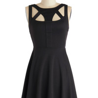 ModCloth LBD Short Length Sleeveless A-line Uniquely Yours Dress