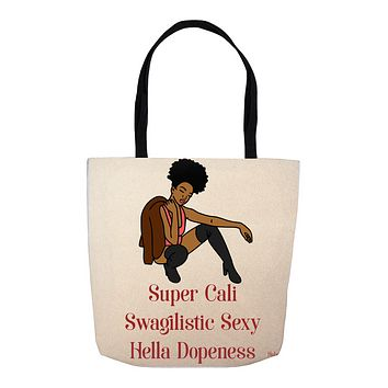 Tote Bags For Black Women  Canvas Tote Bag For Travel Beach  Dope Black Girl