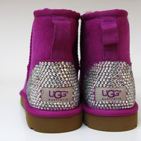 Customized Bling Ladies Ugg Boots