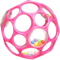 O'Ball Rattle - Pink