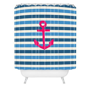 Bianca Green Stay 1 Shower Curtain