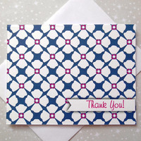 Poppy Floral Thank You Cards 8ct