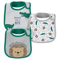 Just One You™ Made by Carter's® Baby Boys' 3-Pack Bib Set - Green