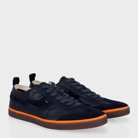 Paul Smith Men's Shoes | Navy Leather Michel Sneakers