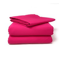 Tache Cotton Hot Pink Fitted Sheet (BS3PC-PI)