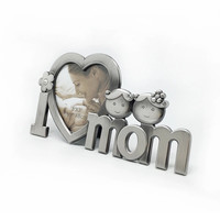 Best Gift for Mom Mothers Day Present Cute Metal Creative Photo Frame for Love Ones