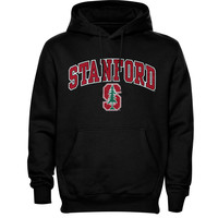 Stanford Cardinal New Agenda Midsize Arch Over Logo Hoodie - Black