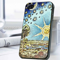 iPhone case,Samsung Galaxy,Cover,Skin,iPod Touch,Galaxy Note2/3,Trends,October,November,Winter-17914,9,Classic,Old,Starry,Sun,And,Moon