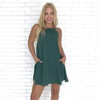 Greener On The Other Side Shift Dress