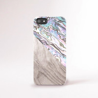 Shell iPhone Case Pearl iPhone 6 Case Pastel iPhone 6 Case iPhone Case Shell iPhone Case Tough iPhone 6 Case - SHELL PRINT NOT Real Shell