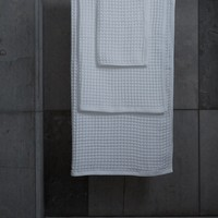 Air Waffle White Towels