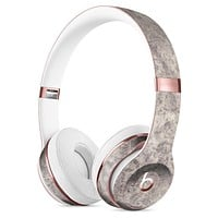 Faded Gray Cauliflower Damask Pattern Full-Body Skin Kit for the Beats by Dre Solo 3 Wireless Headphones