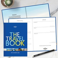 Lonely Planet Travel Book Planner