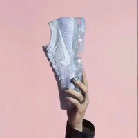 Nike Air VaporMax Flyknit Trending Women Men Personality Sport Running Shoe Sneakers Grey I