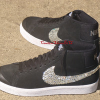 Sparkly Ticks Nike Black Blazer SB