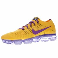 "Dragon Ball Z x Nike Air VaporMax Flyknit Running Shoes Sneaker ""Yellow&Purple"" AA3858-104"