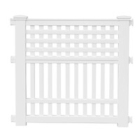 Suncast Grand View 35.75 in. Resin Garden Fence-GVF3232 at The Home Depot
