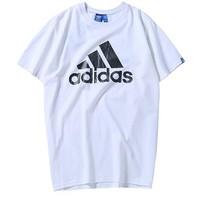 Adidas Woman Men Fashion Casual Sports Shirt Top Tee-10