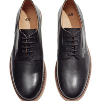 Leather Shoes - from H&M