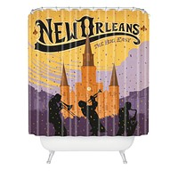 Anderson Design Group New Orleans 1 Shower Curtain