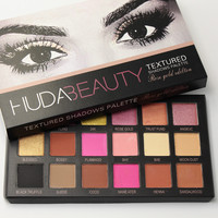 Brand 18 Colors Huda Beauty Eyeshadow Rose Gold Textured Pallete Make up Eye Shadow Palette Cosmetics Makeup
