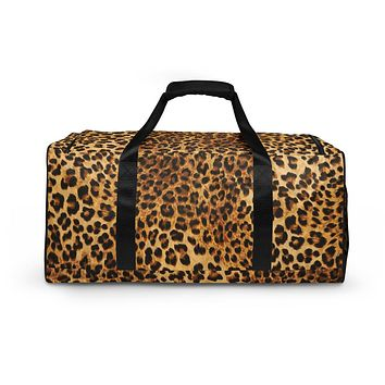 Cheetah Animal Print Gym bag