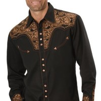 Scully Floral Embroidered Western Shirt - Sheplers