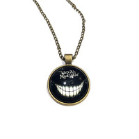 We're All Mad Here - Alice in Wonderland Long Necklace