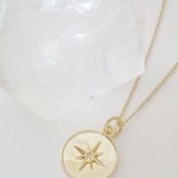 Celestial Starburst Necklace
