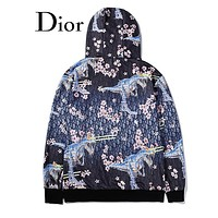 Dior Newest Fashion Women Men Personality Print Hoodie Sweater Sweatshirt