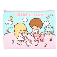 Little Twin Stars Flat Pencil Pouch: Classic