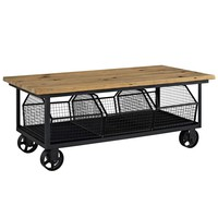 Fairground Coffee Table in Brown