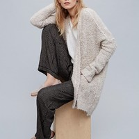 Free People Boucle Slouch Cardi