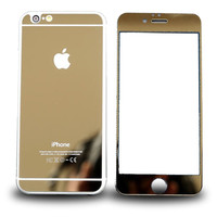 MIRRORED IPHONE PROTECTOR GOLD