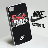 nike JUST DO IT -  iphone case cover- iPhone 4 / iPhone 4S / iPhone 5 / Samsung S2 / Samsung S3 / Samsung S4 Case Cover