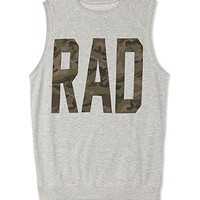 Rad Camo Muscle Tee   FOREVER 21 - 2000074428
