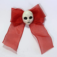 DOLLHOUSE BOW - Alice in Wonderland and Madness Returns inspired Hairbow