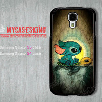 Stitch and Turtle Samsung galaxy s3 case Turtle samsung galaxy s4 case Lilo and Stitch galaxy s3 case galaxy s4 caseS3/S4 Hard/Rubber case
