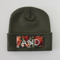SWGNT — And Clothing Floral Beanie