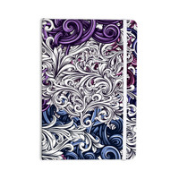"""Nick Atkinson """"Celtic Floral I"""" Purple Abstract Everything Notebook"""