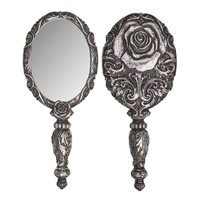 Alchemy Gothic Baroque Rose Hand Mirror