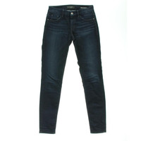 Guess Womens Mid-Rise Curvy Fit Skinny Jeans