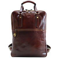 Personalize Firenze Top Handle Backpack